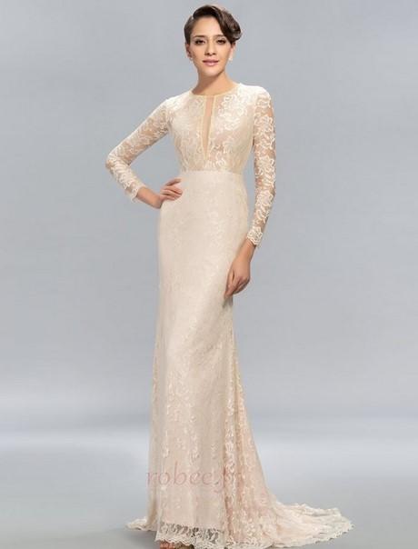 704fd6a3647 De luxe Robes De Soirée Longue 3 4 Manches Perlé Robe De Bal 2019