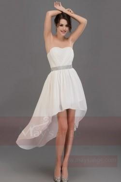 299509851a1 Great blog robe  Robe asymetrique noire et blanche