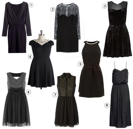 modele robe noire. Black Bedroom Furniture Sets. Home Design Ideas