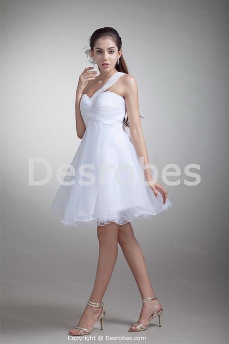robe blanche courte mariage. Black Bedroom Furniture Sets. Home Design Ideas