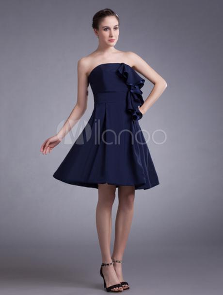 robe bustier bleu marine. Black Bedroom Furniture Sets. Home Design Ideas