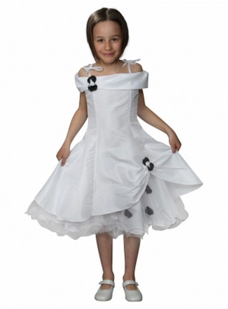 Robe ceremonie enfant fille for Robes blanches pour les mariages