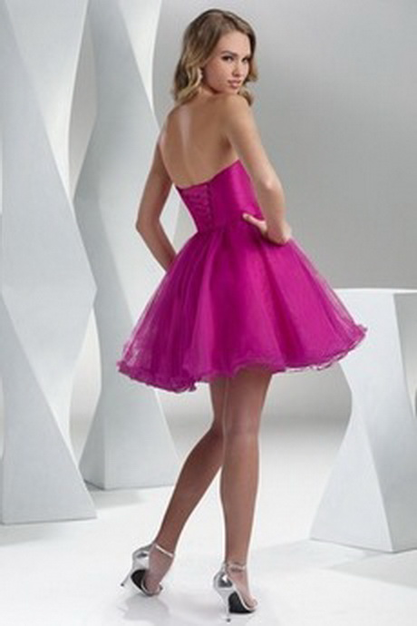 robe de bal de promo courte. Black Bedroom Furniture Sets. Home Design Ideas