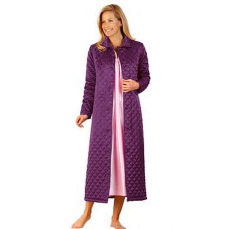 Robes de chambre femme damart all pictures top - Robe de chambre femme polaire longue ...