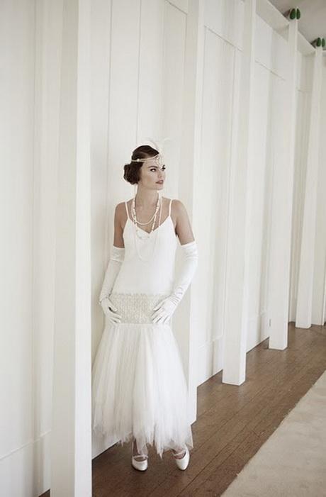 Robe de mari e style charleston - Robe de mariee annee 20 ...
