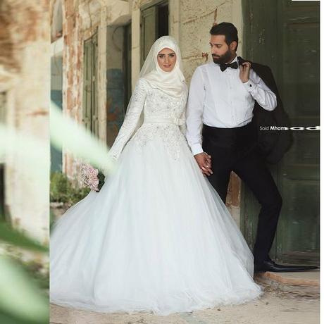Aliexpress.com: Acheter Robes de mariée 2016 musulmans Hijab robes