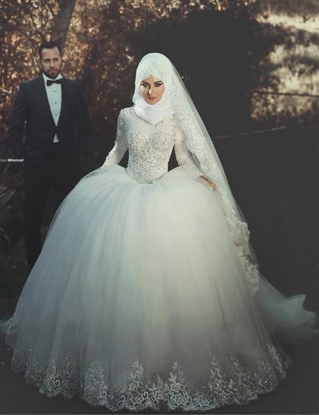 robe de mariée avec hijab – fleurs du monde