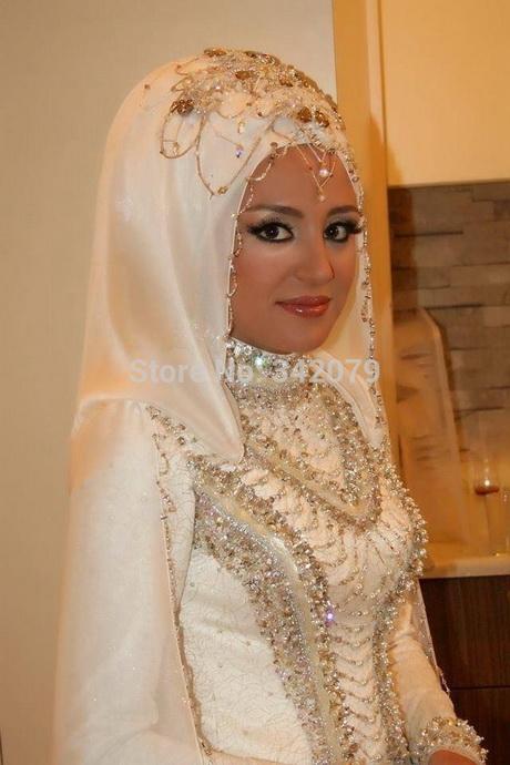 Robe de mariée hijab élégant et chic – Hijabook