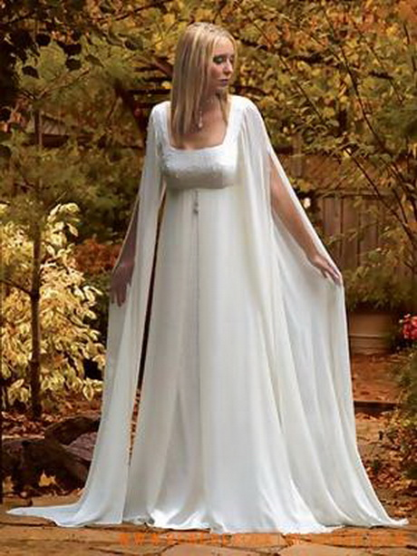 Robe de mariee medievale for Medieval style wedding dress
