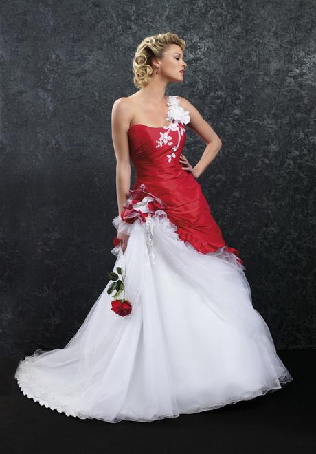 Robes de mariée : la vie en rouge – Robes de mariée Tendance