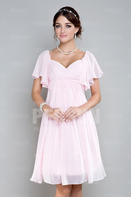 Robe demoiselle d honneur rose for Robes roses pour les mariages