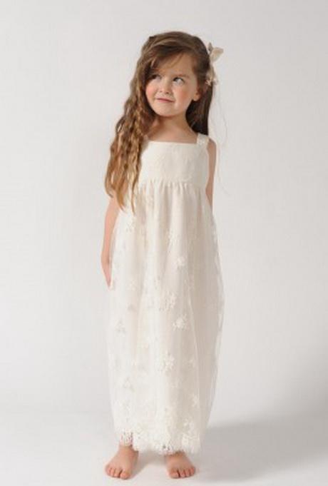 Robe dentelle fillette for Robes de demoiselle d honneur pour le mariage d automne en plein air