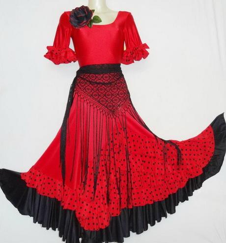 Robe flamenco femme for Jupe a carreaux noir et blanc