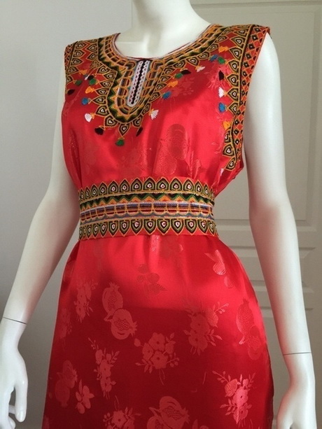 Robe kabyle nouvelle collection for Maison kabyle moderne