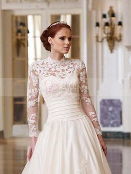 De mariée manches robe de mariée manches longues robe de – Photos ...
