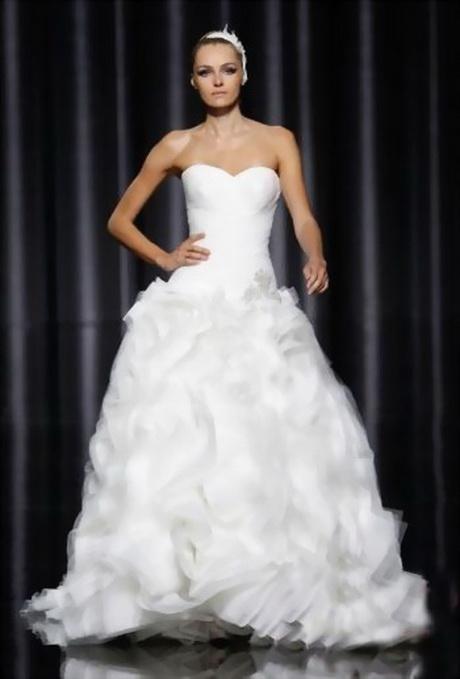 Robe De Mariée Bustier Transparent Plume – Idées de mode