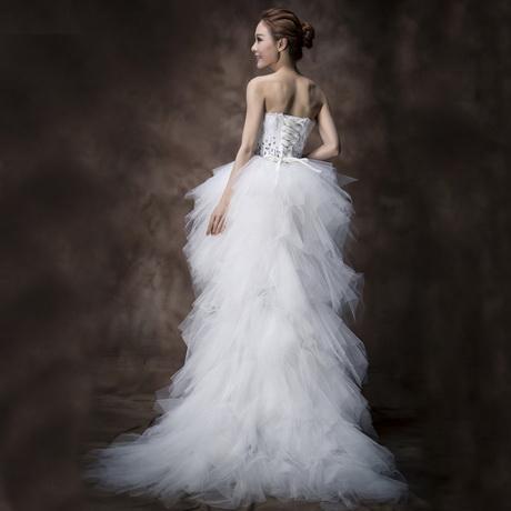 Robe De Mariée Courte Plume – Idées de mode