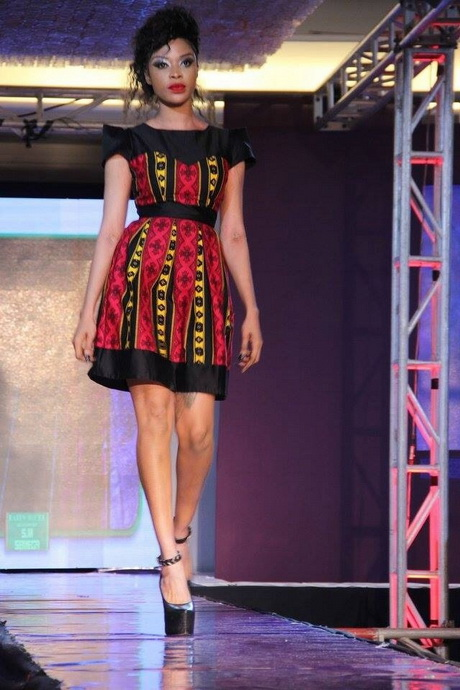 robe pagne avec dentelle