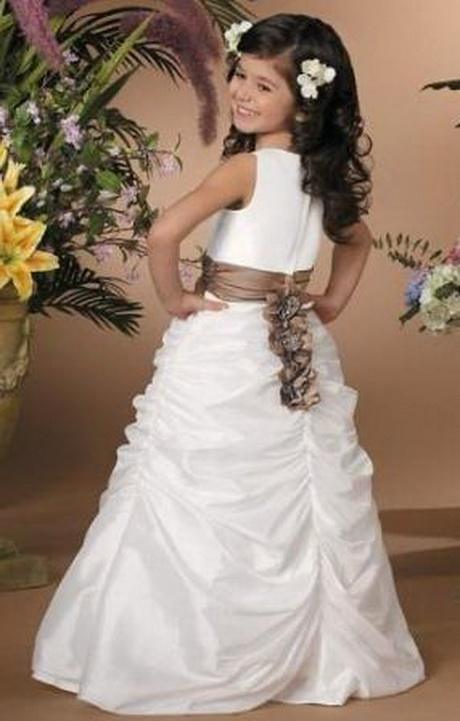 Robe pour mariage pour petite fille - Robe de petite fille pour mariage ...