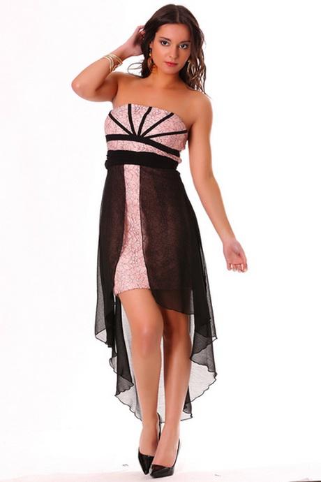 robe rose dentelle noire. Black Bedroom Furniture Sets. Home Design Ideas