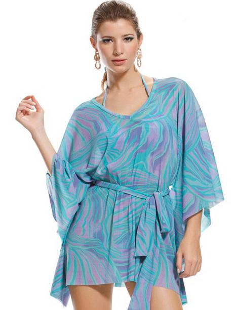 Robe tunique de plage - Tunique de plage femme ...
