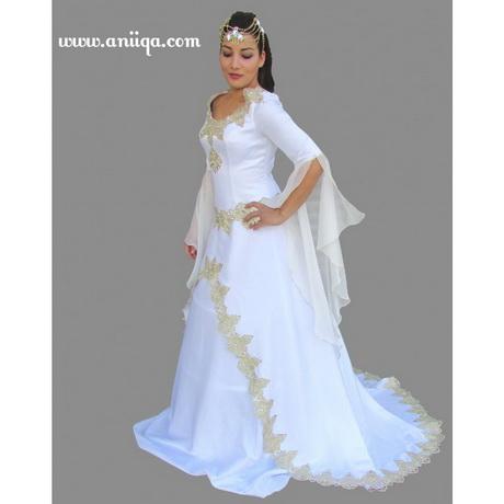 robe de mariée arabe et musulmane orientale pas cher