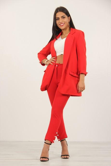 choisir le plus récent rechercher le dernier styles frais Veste Ensemble Pantalon Femme Pantalon Ensemble H2WE9DI