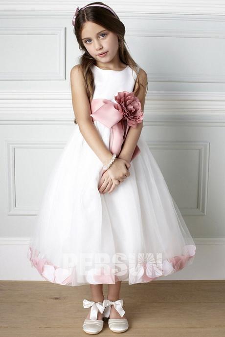 Robe de petite fille d honneur pour mariage - Robe de fille d honneur ...