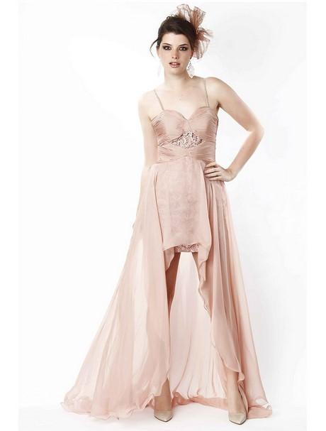 8f379009a24 Robes Gallery  Robe Robe de soirée courte avec traîne en voile 01954