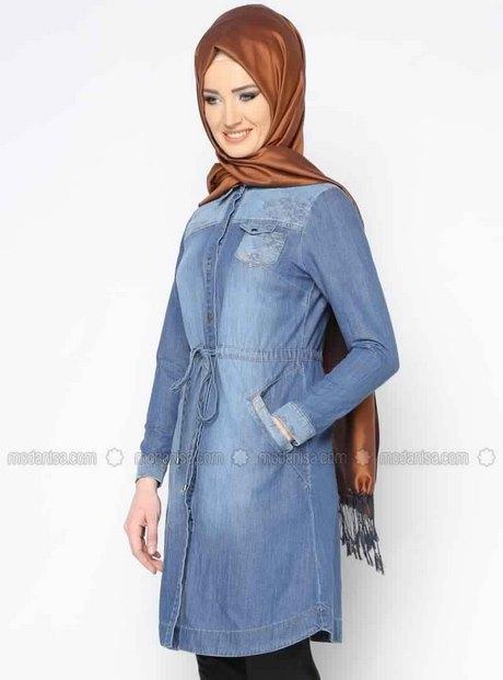 aba1e403255 Tunique longue en Jean pour femme voilée au meilleur Prix! – Mode Islam