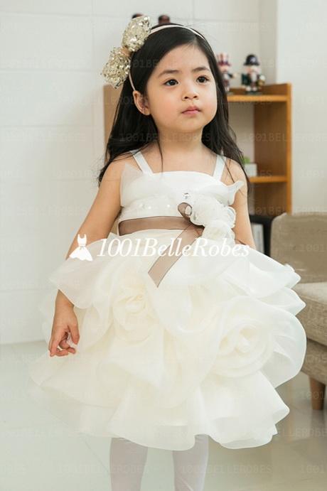 Robe de ceremonie pour petite fille - Robe de petite fille pour mariage ...