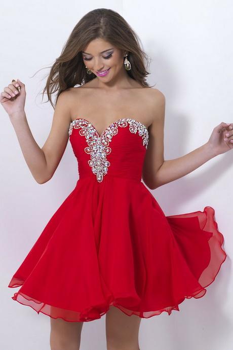 Robe de soir e courte bustier rouge for Robe de noel rouge