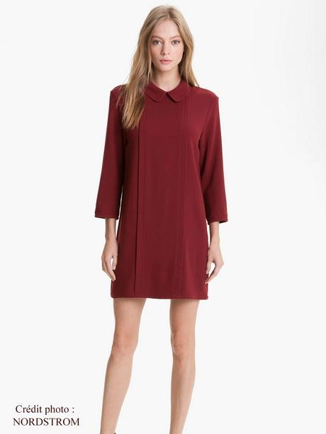 meilleures baskets 61a22 cab31 Robe laine rouge