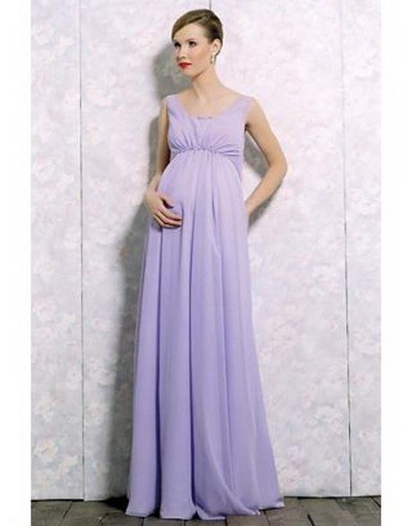 Robe longue de grossesse pour ceremonie for Robe violette pour mariage