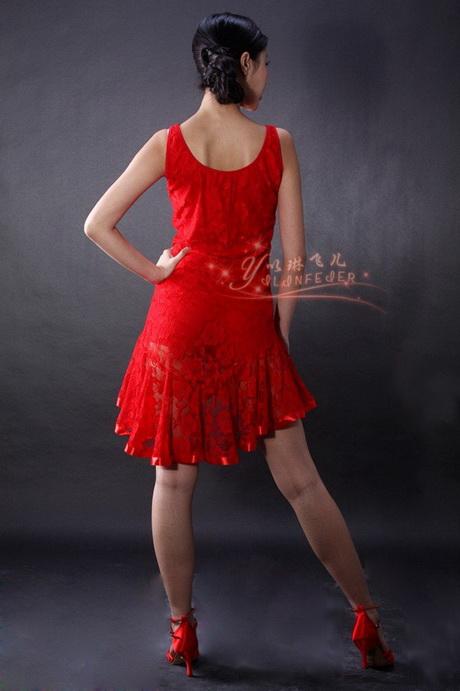 Salon Noir Et Violet : Robe tango rouge