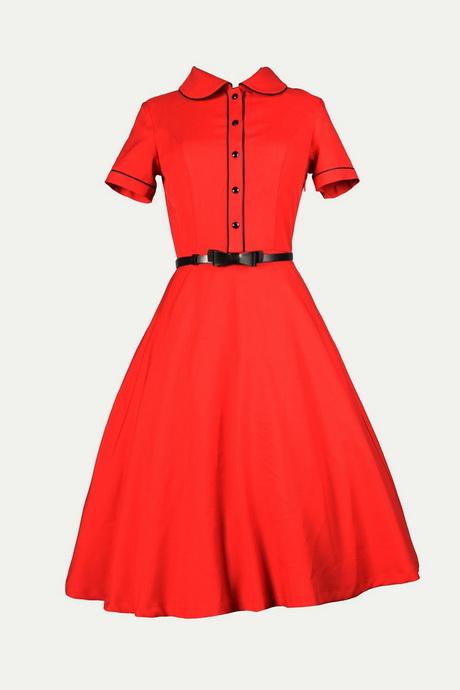 00374f8ea56 Robe Chic Vintage 1950 S Rockabilly Rouge – PentagrammeShop
