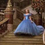 Robe du film cendrillon 2018