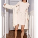 Robe blanche d hiver