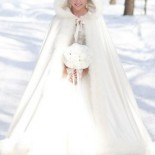 Robe hiver mariage