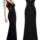 Robe noir long
