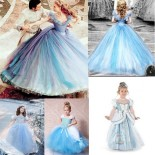 Robe princesse cendrillon