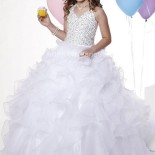 Robe princesse fille pour mariage