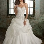 Robe bustier mariage