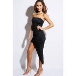 Robe bustier moulante