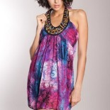 Robe coloree