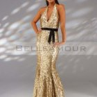 Robe de soiree paillette