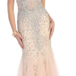 Robe de soiree strass