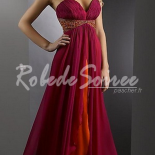 Robe longue de cocktail