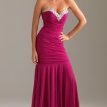 Robe rose fushia