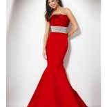 Robe sirene rouge